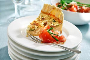 Lyxig quiche med Vsterbottensost