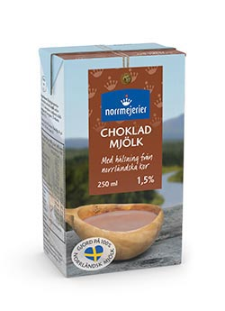 Norrmejerier Chokladmjlk 0,25 liter