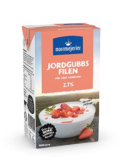 Jordgubbsfil 2,7%