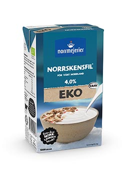 Ekologisk Norrskensfil 4%