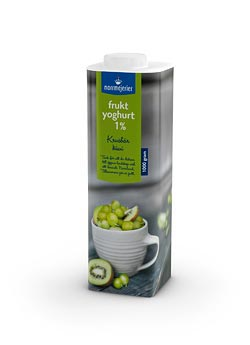Fruktyoghurt 1% Krusbr-Kiwi