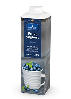 Fruktyoghurt 2,5% Blbr
