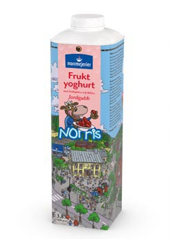 Norris Fruktyoghurt 3,8% Jordgubb
