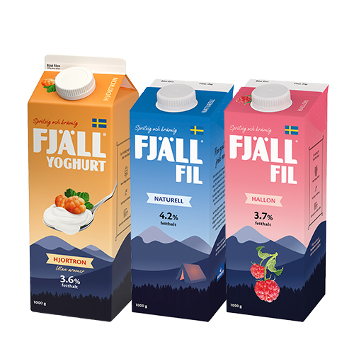 Fjllfil och Fjllyoghurt